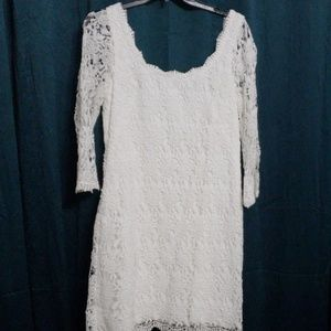 White House Black Market Lace Dress NWT!